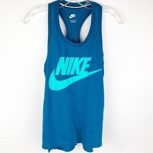 Nike blue tank top